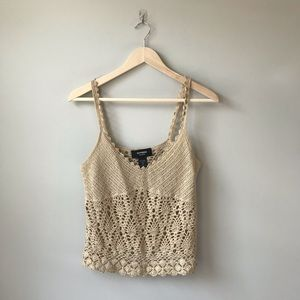 Hand Knit Crop Top from Express